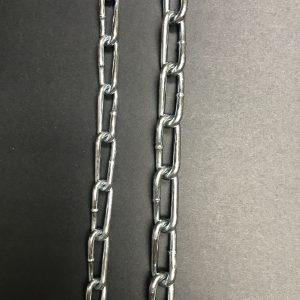 twist link coil chain