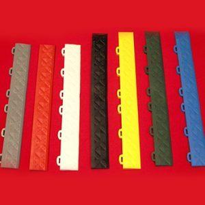 Floor mat edges and corners