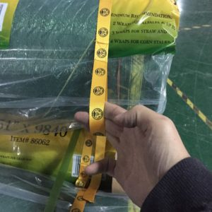 agricultural bale net wrap from 48 to 67 foot length, 440